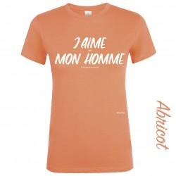 T-shirt J'aime quand mon homme