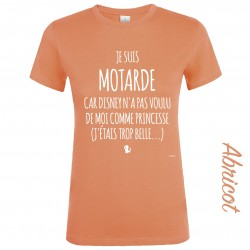 T-SHIRT PRINCESSE MOTARDE