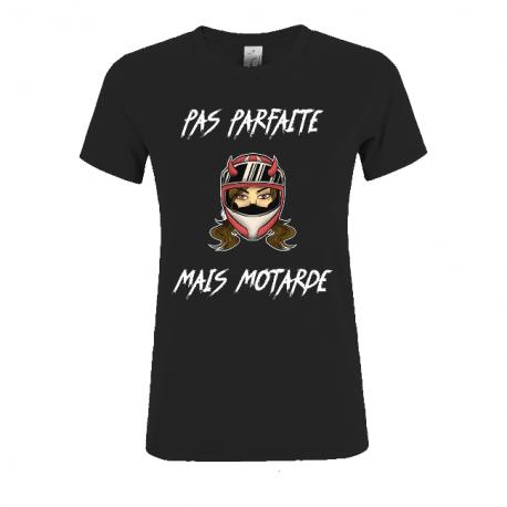 T-SHIRT PAS PARFAITE MAIS MOTARDE
