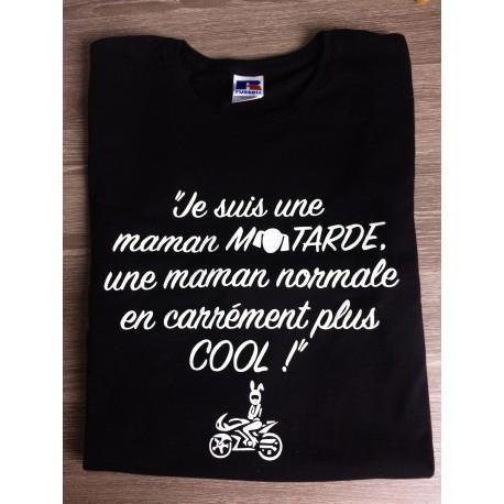 T-SHIRT MAMAN MOTARDE