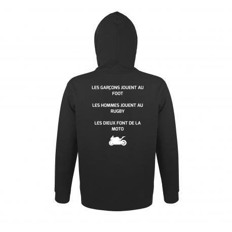 Sweatshirt à Capuche DIEU MOTO