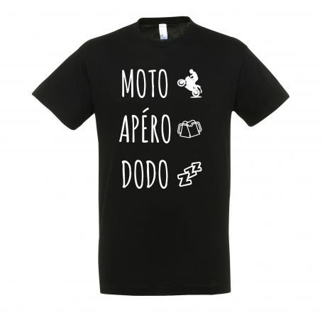 T-SHIRT MOTO APÉRO DODO